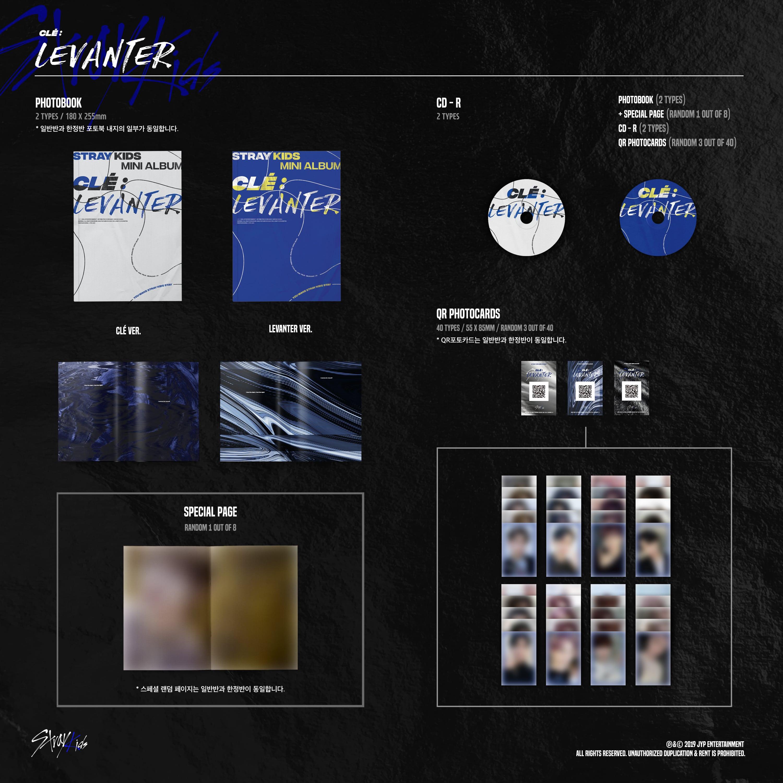 Stray Kids - Clé : LEVANTER (Normal Edition) - Mini Album